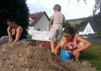 Remplissage des bacs à Tannach